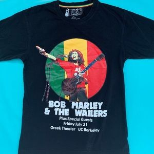Tops - Bob Marley & The Wailers Burnin shirt